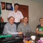 Begegnung mit Kultursminister von Tschetschenien D. Muzakaev
