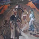 """""""Die letzte Burg"""", Öl auf Leinwand, 40 x 50 cm, 2.000,00 €"""