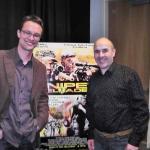 Mit Claudio Faeh (Regisseur). Los Angeles 2011