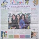 """Artikel über die Erscheinung des neuen Kindermagazins """"Schlingel"""""""