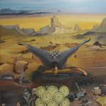 """""""Der letzte Engel"""", Öl auf Leinwand, 180 x 200 cm, 19.500,00 €"""