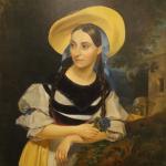 Poreträt von F.Persianni (Kopie), 90 x 110 cm, verkauft