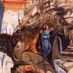 """""""Geheimnisvolle Berge"""", Öl auf Leinwand, 110 x 160 cm, Verkauft"""