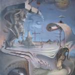 """""""Durst in der Wüste"""", Öl auf Leinwand, 60 x 70 cm, 6.200,00 €"""