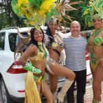 Brasilianische Tänzerinnen in Schmölln