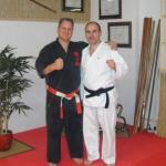 Mit Shihan Frank Williams (8. Dan Karate-dō, USA),