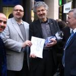 Geschäftsführer der LVZ Norbert Schmid und Baubürgermeister Martin zur Nedden