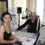 """Livesendung bei Radio """"Mephisto"""""""
