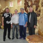 Zu Besuch beim tschetschenischen Bildhauer Iles Tataev (Grozny 2009)